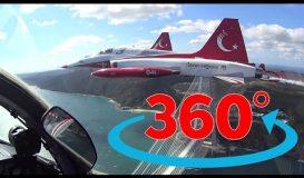 Türk Yıldızları ve THY İstanbul Uçuşu